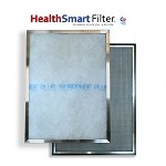 HealthSmart AC Filter - Furnace Filter System with a supply of Biosponge Plus refills
