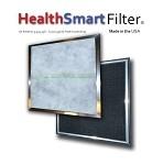 HealthSmart AC Filter - Furnace Filter System with a  supply of Biosponge refills