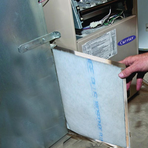 how to install ac filters