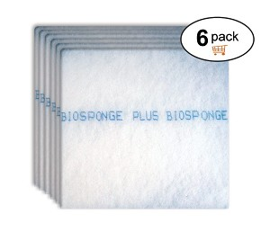 Biosponge Plus Refills (6 Pack) | For AIRTEVA & HealthSmart Furnace - AC Filters