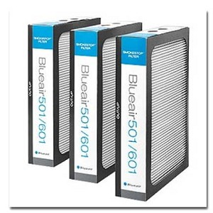 Blueair 500/600 Series HEPASilent Particle Filter(Includes 3 Filters)