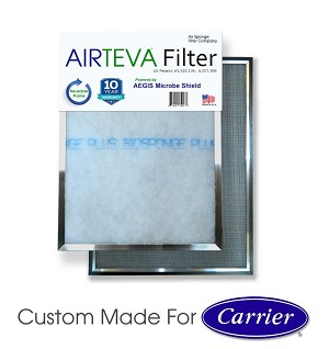 AIRTEVA Biosponge Plus - Carrier edition with a year supply of (6) Biosponge Plus refills